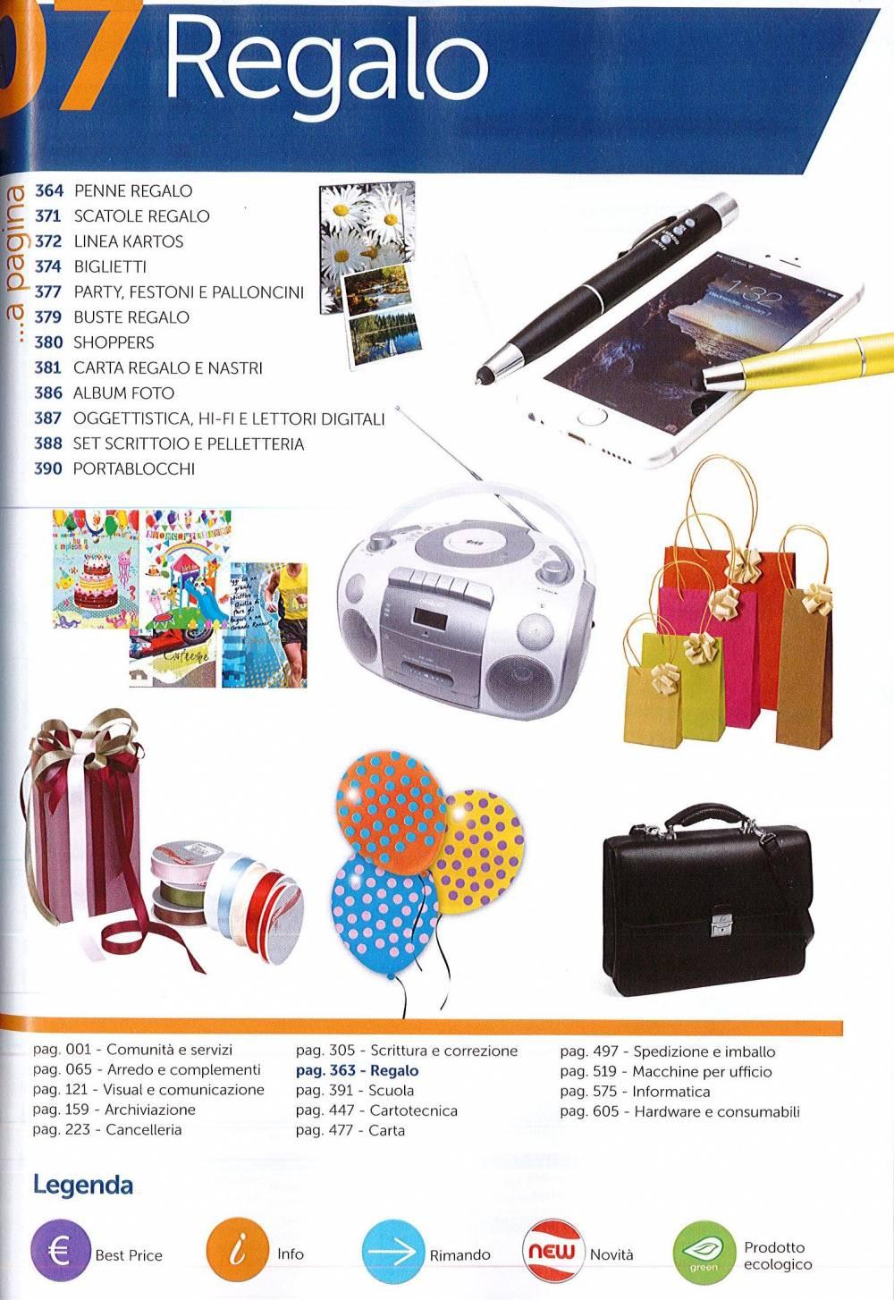nuovo catalogo prodotti per ufficio